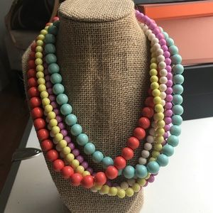 Jewelry - Multicolored Beaded Statement Necklace